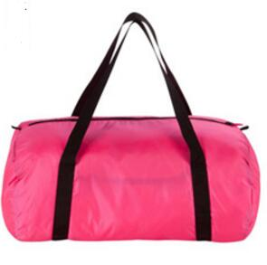 folded sport bag with waterproof front